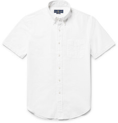 Polo Ralph Lauren Button-Down Collar Cotton-Seersucker Shirt