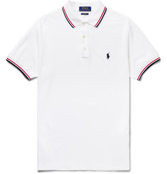 Polo Ralph Lauren - Contrast-Tipped Cotton-Piqué Polo Shirt