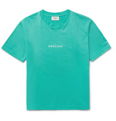 Everest Isles Horizon Printed Cotton-Jersey T-Shirt