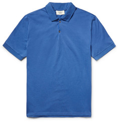 Everest Isles Shell-Trimmed Cotton-Piqué Polo Shirt