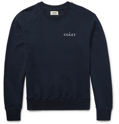Everest Isles Embroidered Loopback Cotton-Jersey Sweatshirt