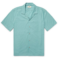 Everest Isles Camp-Collar Voile Shirt