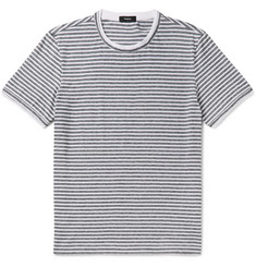 Theory Rylee Slim-Fit Striped Pima Cotton-Jersey T-Shirt