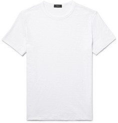 Theory Gaskell Slim-Fit Slub Cotton-Jersey T-Shirt
