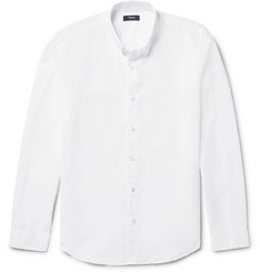 Theory Rammy Slub Linen and Cotton-Blend Shirt