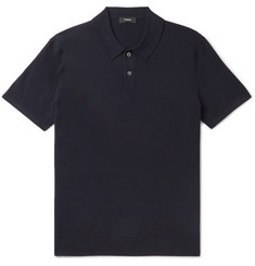 Theory - Goris Knitted Polo Shirt