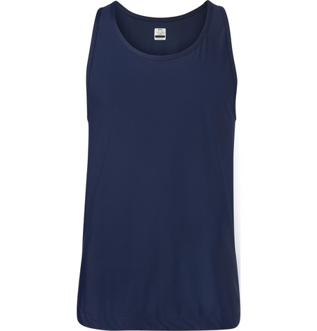 Apl Athletic Propulsion Labs The Perfect Stretch-Jersey Tank Top - Navy