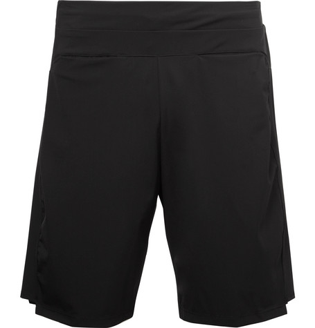 Apl Athletic Propulsion Labs Stretch-Jersey Shorts In Black