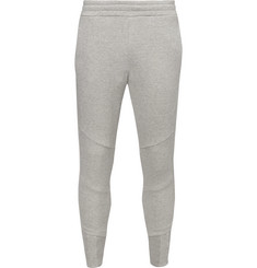Athletic Propulsion Labs Slim-Fit Mélange Loopback Cotton-Jersey Sweatpants