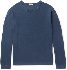 Eidos Linea Cotton and Cashmere-Blend Sweater