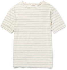 Eidos - Striped Cotton-Jersey T-Shirt