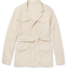 Eidos Cotton and Linen-Blend Field Jacket