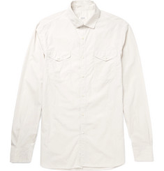 Eidos Slim-Fit Washed-Cotton Shirt