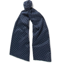 Engineered Garments Polka-Dot Cotton Scarf