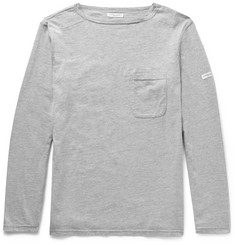 Engineered Garments Mélange Cotton-Blend Jersey T-shirt