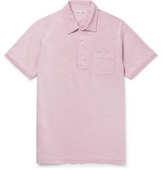 Alex Mill Slub Cotton-Jersey Polo Shirt