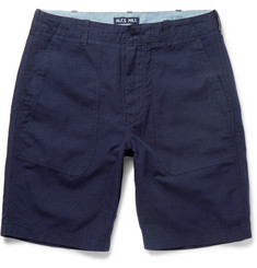 Alex Mill Cotton and Linen-Blend Canvas Shorts