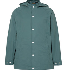 Freemans Sporting Club Water-Repellent Cotton and Nylon-Blend Hooded Jacket