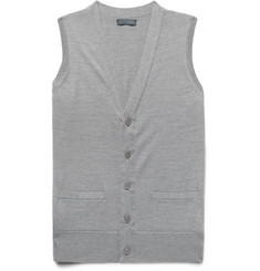 Thom Sweeney Virgin Wool Vest