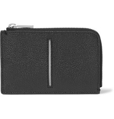 Tod's Zip-Around Pebble-Grain Leather Wallet