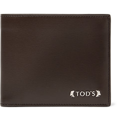Tod's Textured-Leather Billfold Wallet