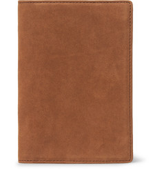 WANT LES ESSENTIELS Pearson Nubuck Passport Cover