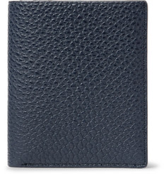 WANT LES ESSENTIELS Bradley Pebble-Grain Leather Bifold Wallet