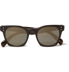 Oliver Peoples + Byredo D-Frame Acetate Polarised Sunglasses
