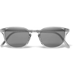 Oliver Peoples Fairmont D-Frame Acetate Sunglasses