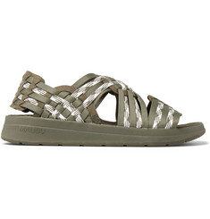Malibu + Missoni Woven Canvas Sandals