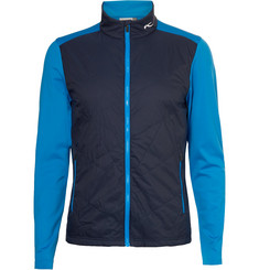Kjus Golf Retention Quilted Shell and Jersey Golf Jacket
