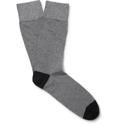 Corgi Two-Tone Cotton-Blend Socks