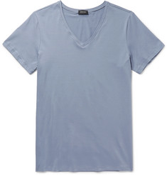 Hanro Mercerised Stretch-Cotton T-Shirt