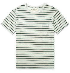 Mollusk Striped Hemp and Organic Cotton-Blend T-Shirt