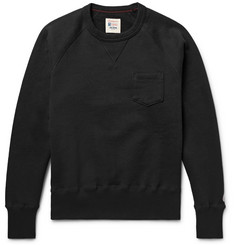 Todd Snyder + Champion Fleece-Back Cotton-Blend Jersey Sweatshirt