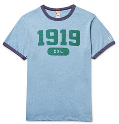 Todd Snyder + Champion Slim-Fit Printed Cotton-Jersey T-Shirt