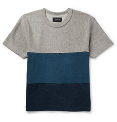 Howlin' Slim-Fit Colour-Block Cotton-Blend Terry T-Shirt