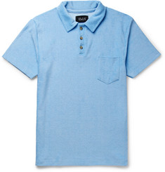 Howlin' Slim-Fit Cotton-Blend Terry Polo Shirt