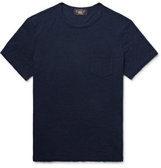 RRL Indigo-Dyed Slub Cotton-Jersey T-Shirt