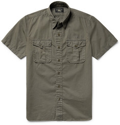 RRL Brushed Cotton-Twill Shirt