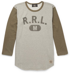 RRL Printed Loopback Cotton-Jersey T-Shirt