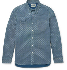 RRL Printed Denim Shirt
