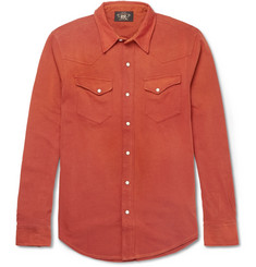 RRL Goldfield Cotton-Jersey Shirt