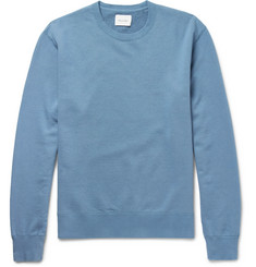 Steven Alan Loopback Cotton-Jersey Sweater