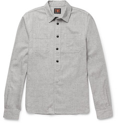 The Workers Club - Slub Cotton-Blend Shirt