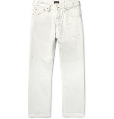 Chimala Distressed Selvedge Denim Jeans