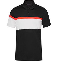 Nike Golf - Mobility Striped Dri-FIT Golf Polo Shirt