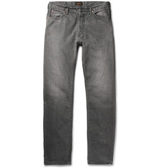 Chimala - Slim-Fit Distressed Selvedge Denim Jeans
