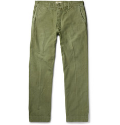 Chimala Wide-Leg Cotton Chinos