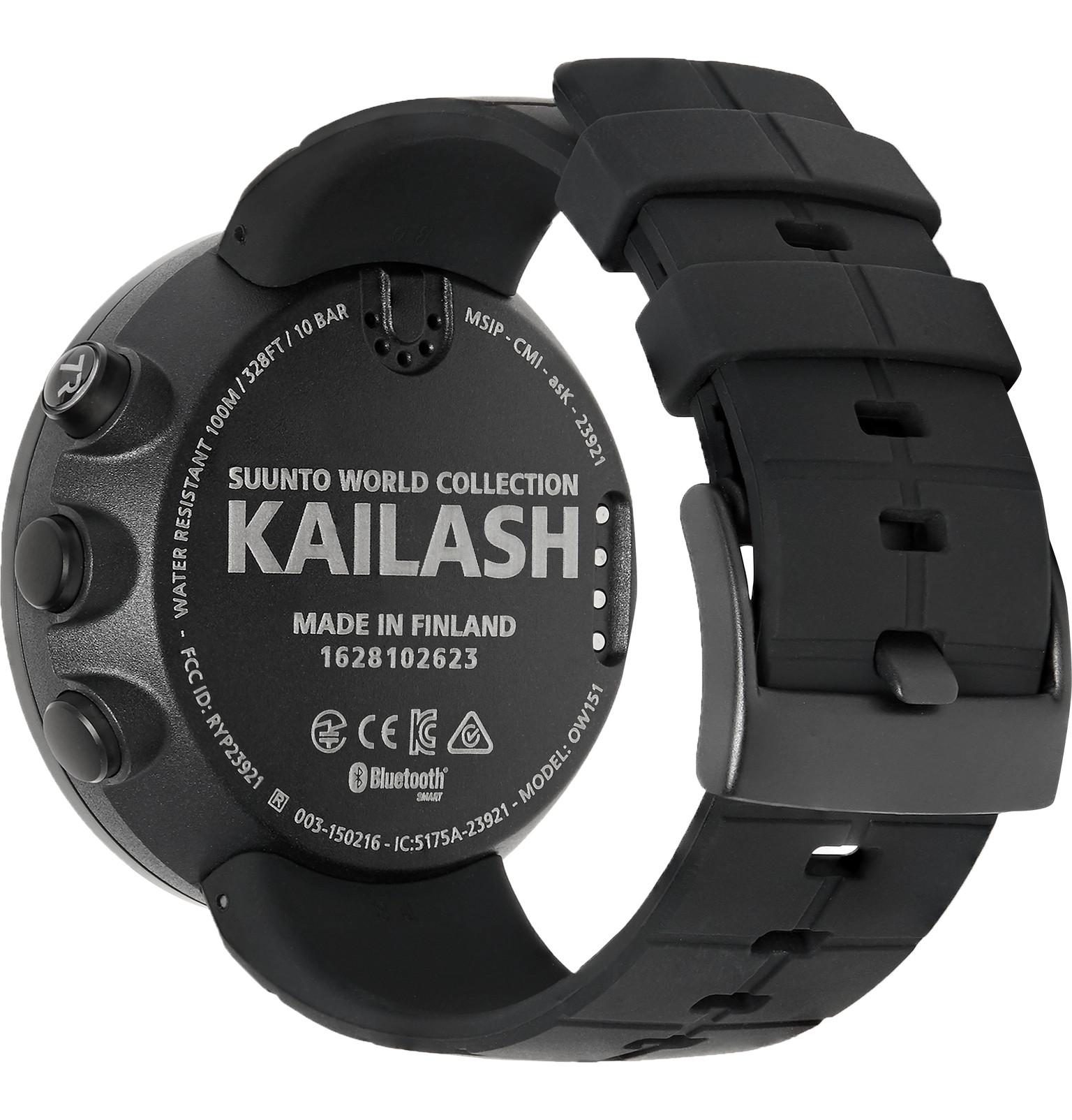 ... Travel Smart Watch Source · Suunto Kailash Alarm Unisex Watch SS021238000 Suunto Watches Source SuuntoKailash Carbon Tone Titanium GPS Watch